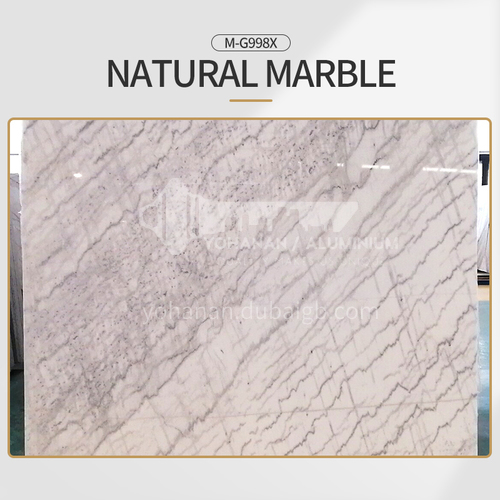 Modern simple white natural marble M-G998X