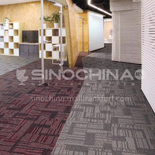 50*50cm nylon +PVC flame retardant office carpet 120A
