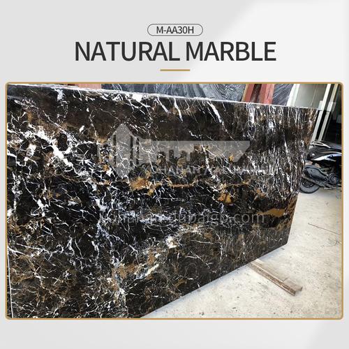 Modern light luxury black natural marble M-AA30H