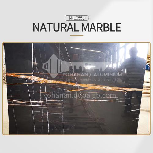 Modern simple black natural marble M-LC55J