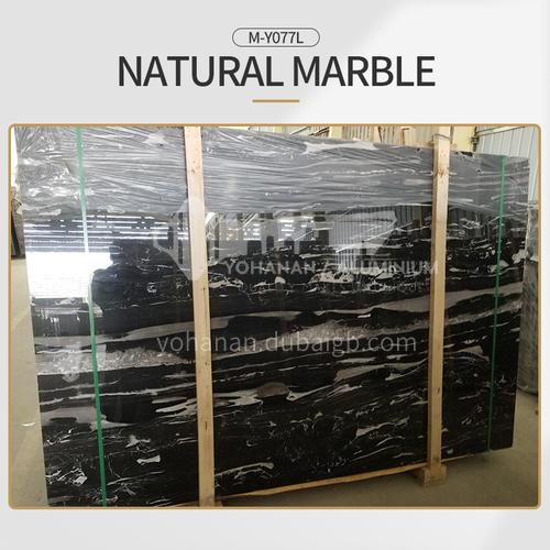 Modern simple black natural marble M-Y077L
