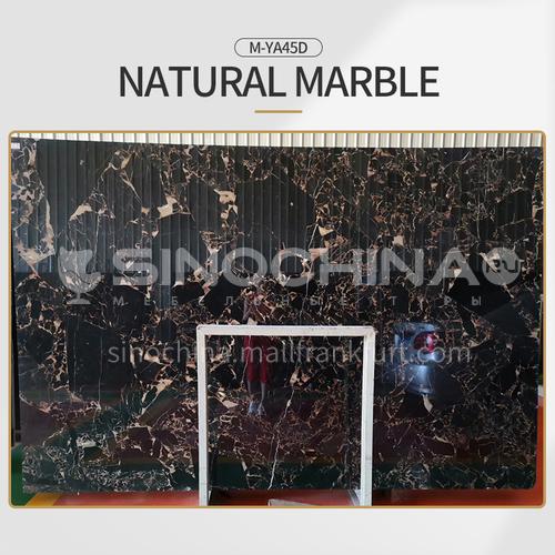 Modern simple black natural marble M-YA45D