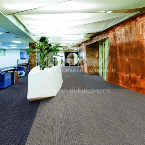 50*50cm PP+Asphalt Office Carpet 221J