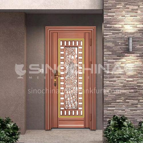 304 stainless steel door anti-theft entrance door 10