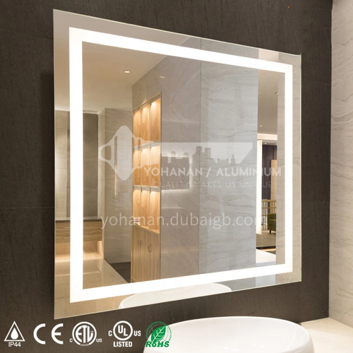 Hotel & Home Decoration    Wall Mounted Bathroom LED Mirror