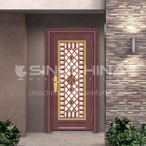 304 stainless steel door anti-theft entrance door 19