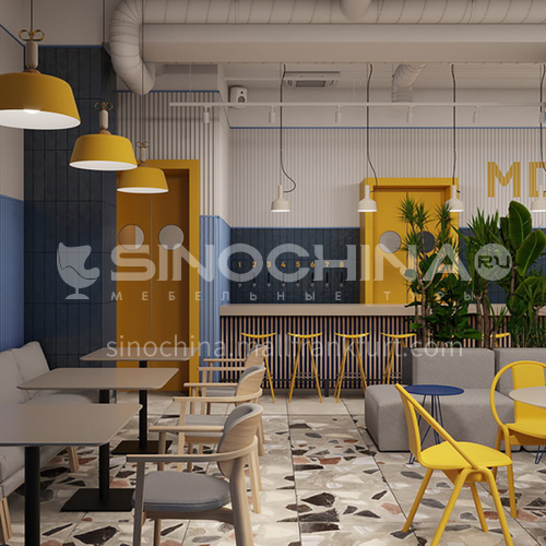 Moscow restaurant design BR1033