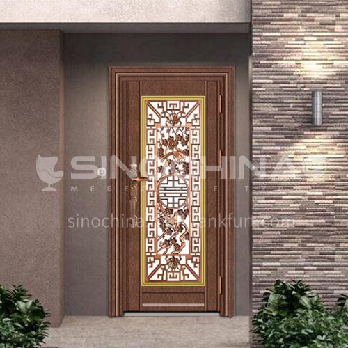 304 stainless steel door anti-theft entrance door 2