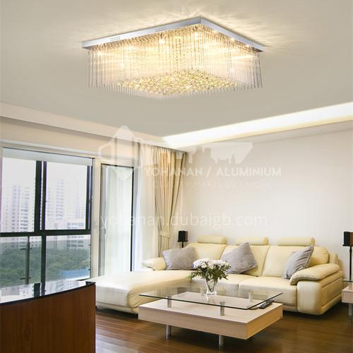Rectangular living room lamp modern living room lamp rectangular crystal lamp bedroom lamp GD-1218
