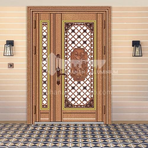 304 stainless steel door rose gold bread entrance door