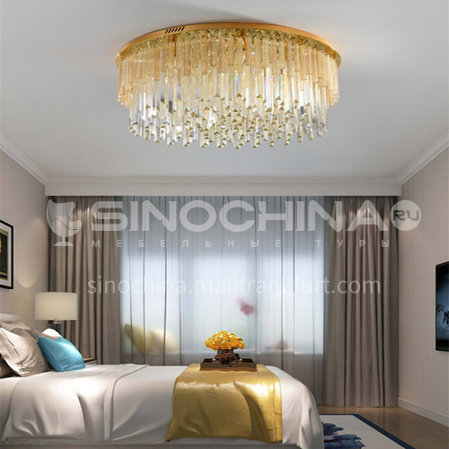 Living room lamp light luxury modern crystal lamp living room led ceiling lamp bedroom lamp GD-1253