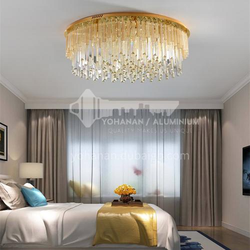 Living room lamp light luxury modern crystal lamp living room led ceiling lamp bedroom lamp GD-1253