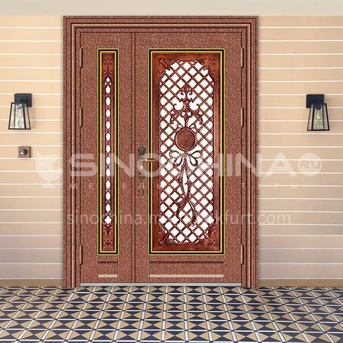 304 stainless steel door red bronze door mother door entrance door