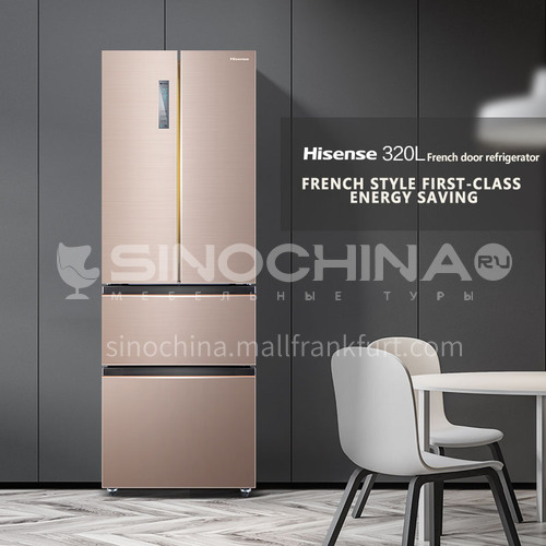 Hisense Air-cooled frost-free first-level energy-saving frequency conversion four-door refrigerator 320 liters DQ000189