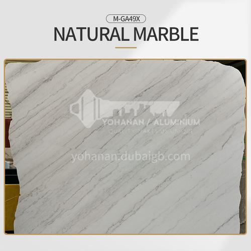 Modern light luxury white natural marble M-GA49X