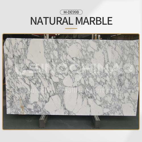 Modern light luxury white natural marble M-DE99B