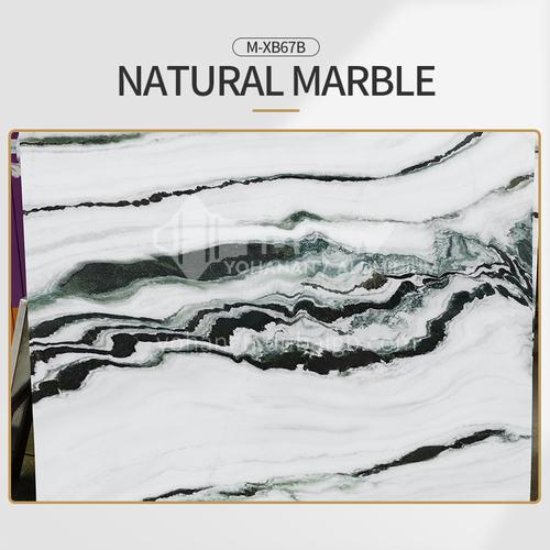 Modern light luxury white natural marble M-XB67B