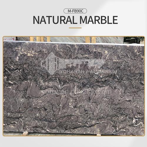 Modern light luxury purple natural marble M-FB90C