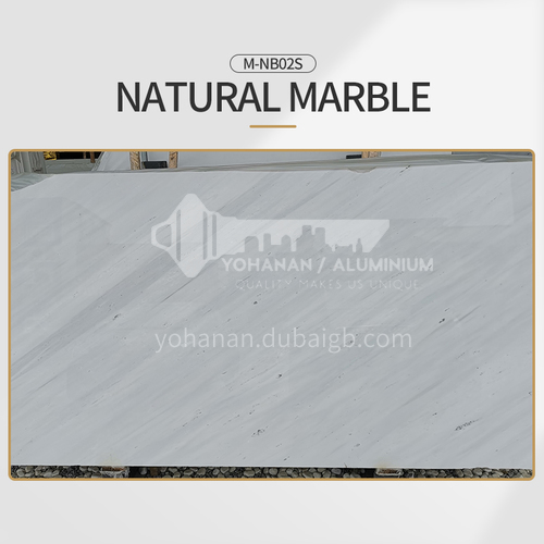 Classic European white natural marble M-NB02S
