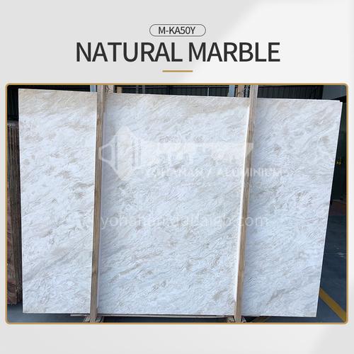Modern simple white natural marble M-KA50Y