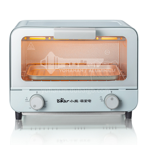 Bear electric oven household multifunctional mini small cake automatic baking bread barbecue pizza 9 liters oven DQ000516