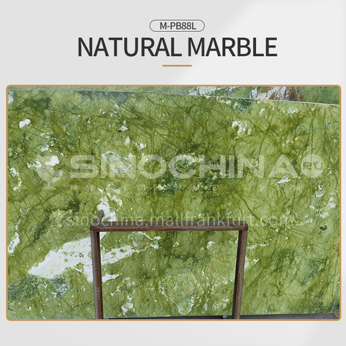 Modern light luxury green natural marble M-PB88L