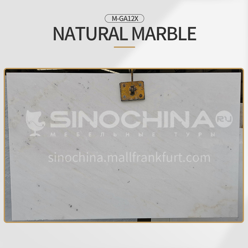 High-end hot-selling modern style natural white marble M-GA12X