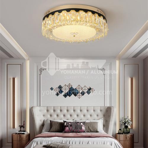 LED bedroom ceiling lamp luxury round crystal lamp romantic bedroom lamp Nordic modern lamp GD-1260