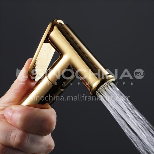 Gold pure copper spray gun HI09045A