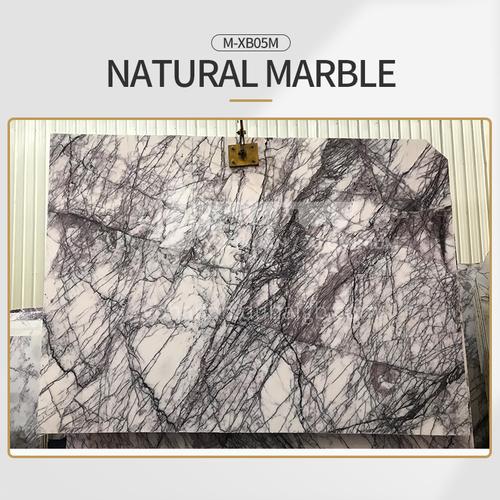 Modern light luxury white natural marble M-XB05M