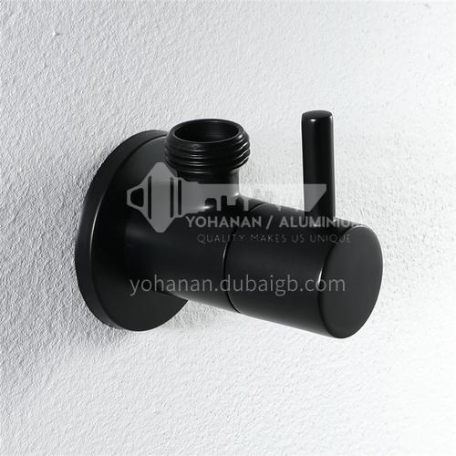 Bathroom black Angle valve