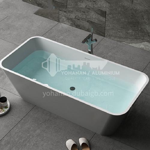 Artificial stone  new design   freestanding   artificial stone   bathtub