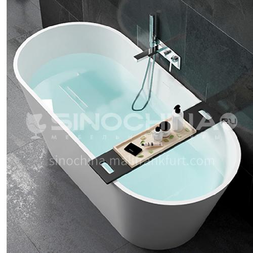 Artificial stone  oval shape  freestanding   artificial stone   bathtub