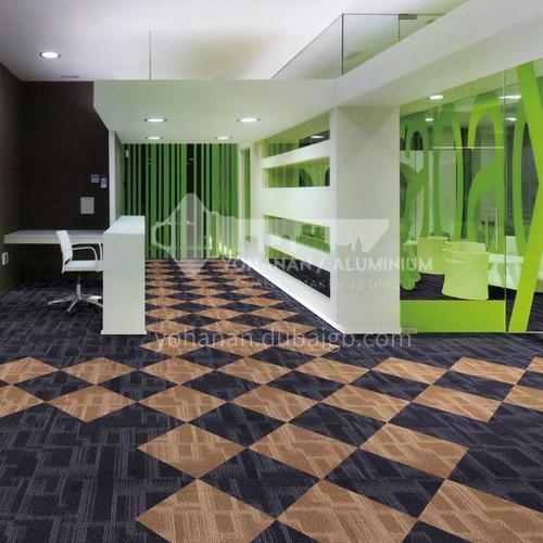 50*50cm Nylon+Asphalt base Fire Resistant Office Carpet 112B
