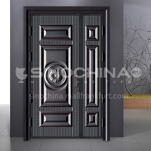 G stock door modern style explosion-proof door durable security door outdoor door 06