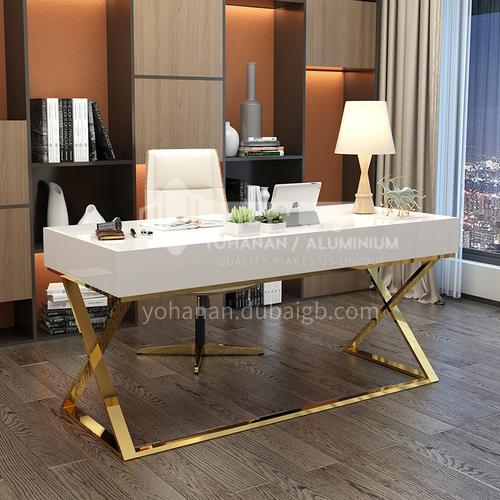 NGX-806 Study room light luxury metal tripod desk