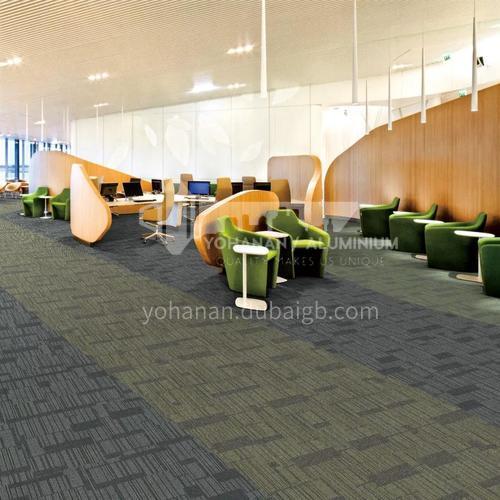 50*50cm PP+PVC Office Carpet 102C