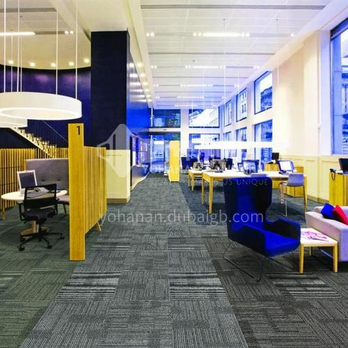 50*50cm PP+Asphalt base Office Carpet  ISB-32X
