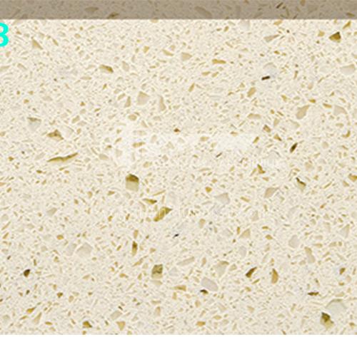Chinese factory direct monochromatic quartz stone GC-012