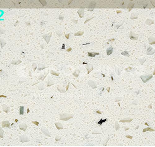 Chinese factory direct monochromatic quartz stone GC-011