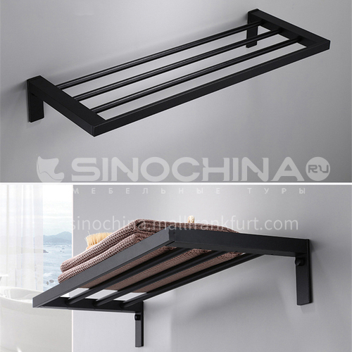 304 stainless steel single layer towel rack LW-QQ022