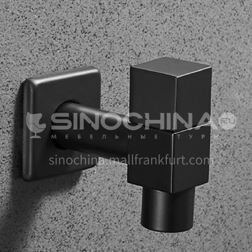 Bathroom black single cold mop sink faucet  LW-QQ012