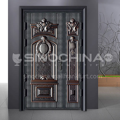 G modern style explosion-proof door durable safety door outdoor door stock door 04