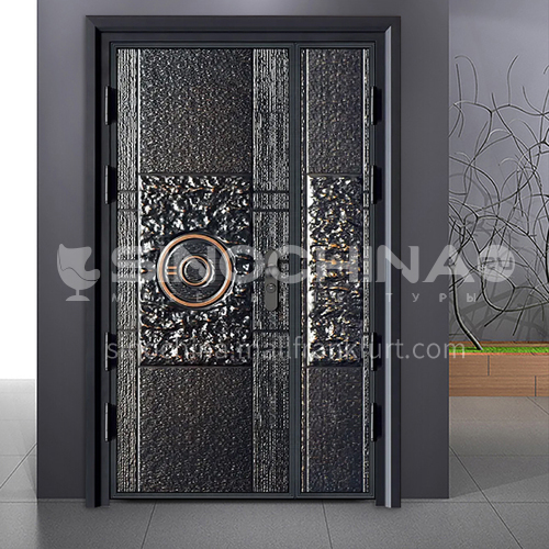 G modern style explosion-proof door durable safety door outdoor door safety door stock door 01