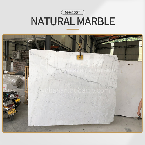 Modern simple white natural marble M-G100T