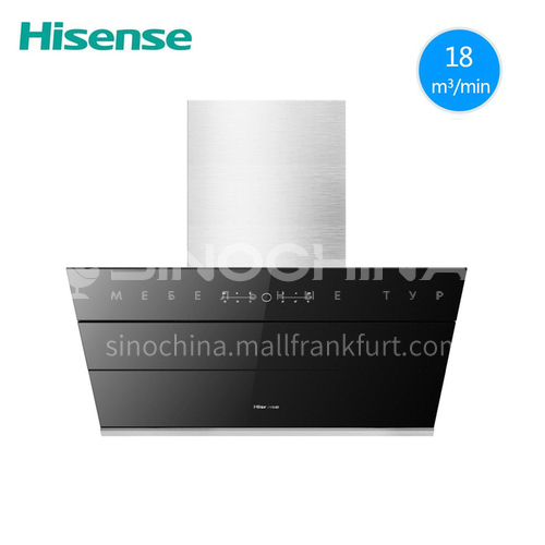 Hisense/海信  large suction dual-motor touch side suction range hood DQ000437