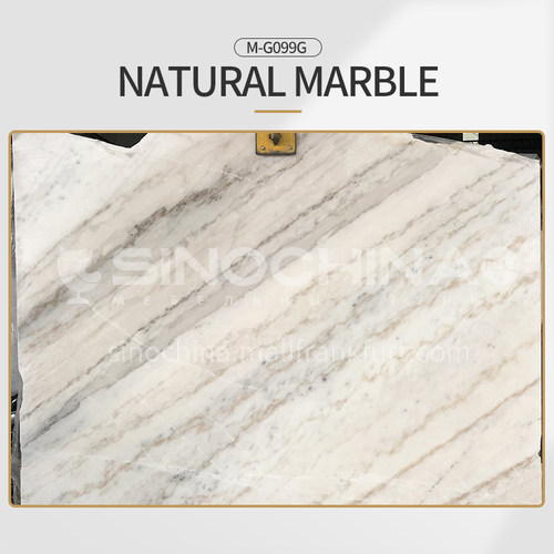 Classic European style white natural marble M-G099G