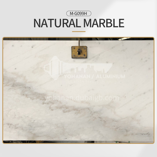 Modern simple white natural marble M-G099H