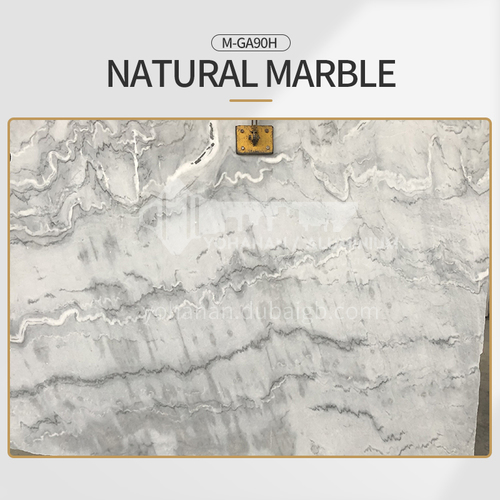 Modern simple white natural marble M-GA90H