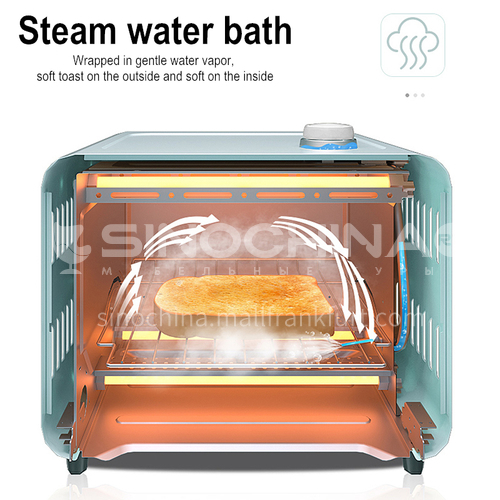 Bear electric oven household baking small mini multi-function automatic cake steam small oven 15 liters DQ000519